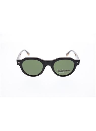 Ermenegildo Zegna  Ez 0102 01N Unısex Güneş Gözlüğü Yeşil